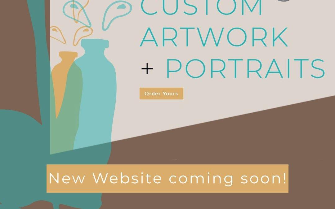 New website launch announcement.